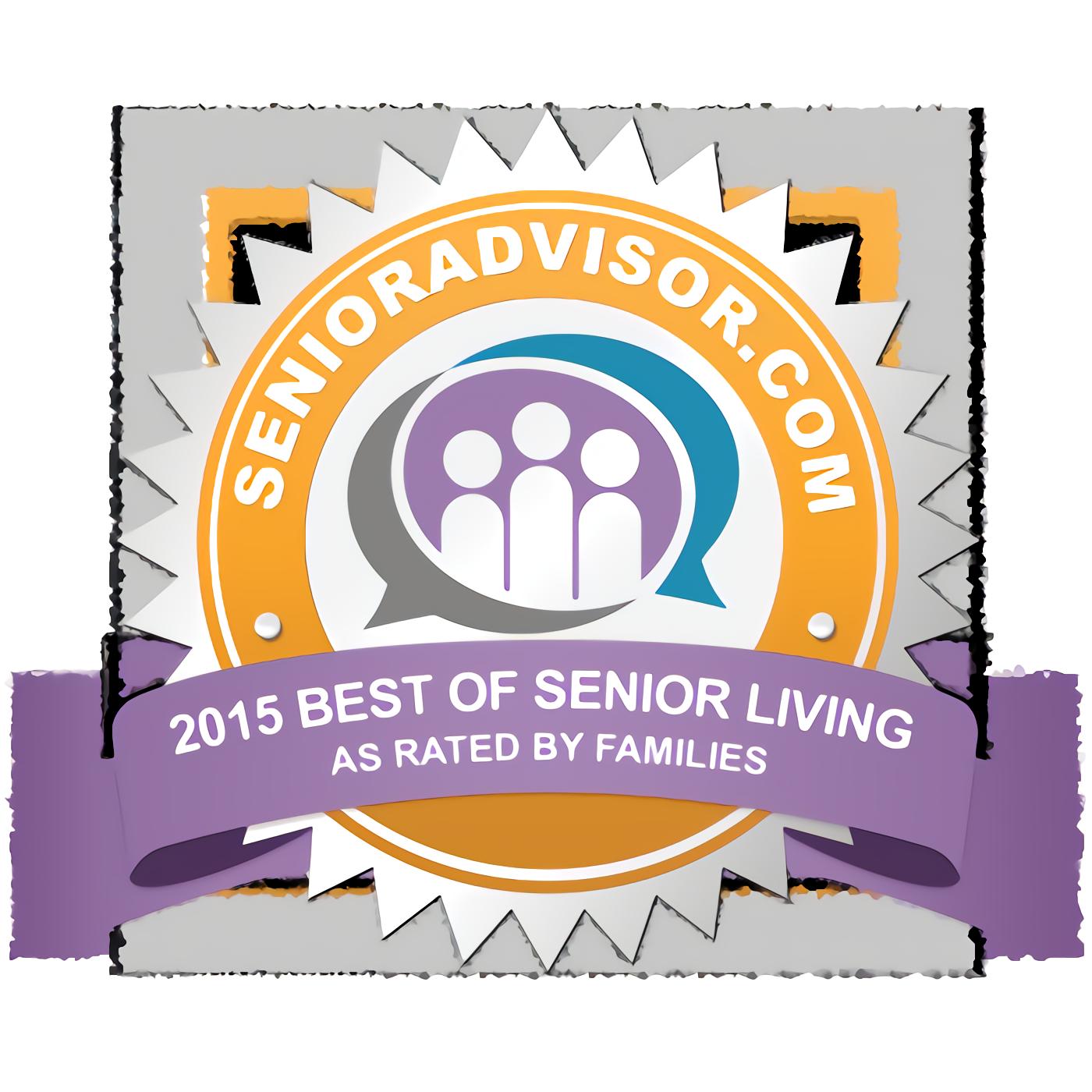 2015 Best of Senior Living Award