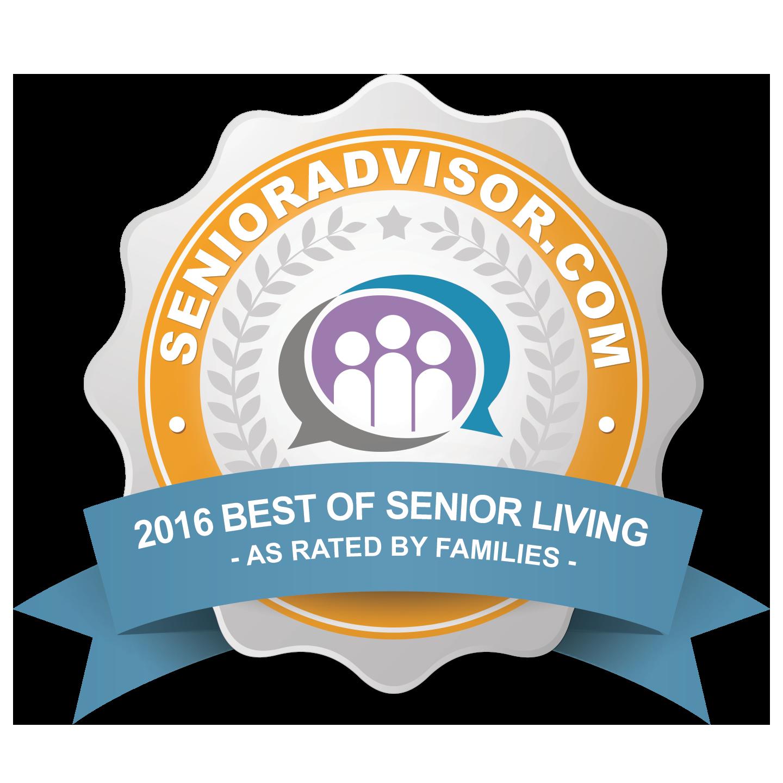 2016 Best of Senior Living Award