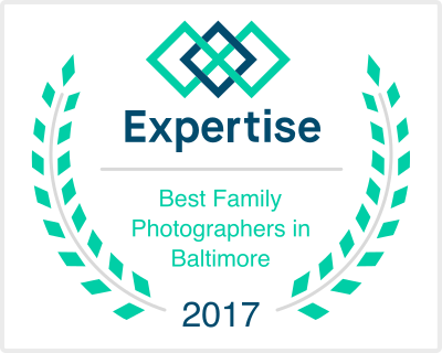 Best family photographer in Baltimore award