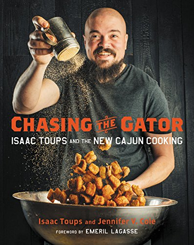 Chasing the GatorCookbook - The new book pays homage to the time-honored traditions of a distinctly Cajun upbringing, offering recipes, notes, and stories from the backcountry to the bayou. Written by Issac and acclaimed journalist Jennifer V. Cole with foreword by Emeril Lagasse. Get your copy here on Amazon today!