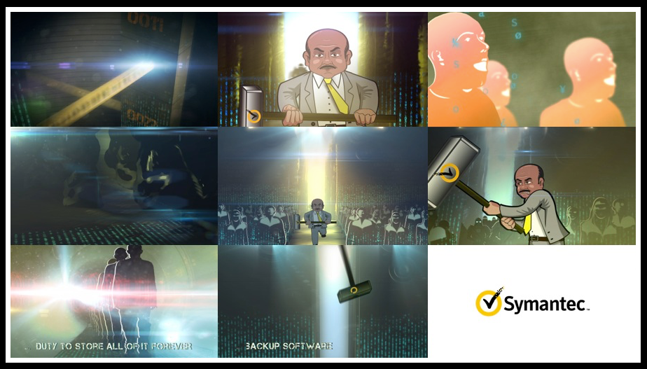 SYMANTEC TVC - DIRECTED : ANIMATED : DESIGN