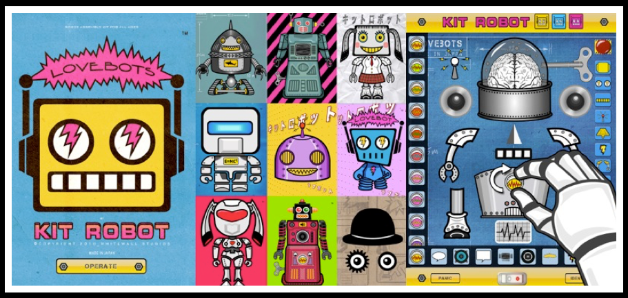 LOVEBOTS APP - CREATED : DESIGNED