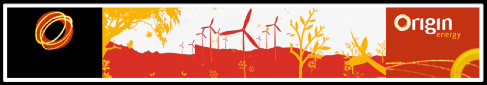 ORIGIN ENERGY : BRANDING DESIGN : ANIMATION TVC