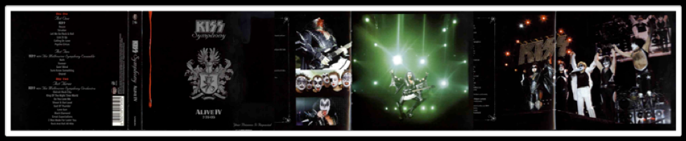 KISS SYMPHONY ALBUM ART & INSERTS : PRIMARY PHOTOGRAPHY
