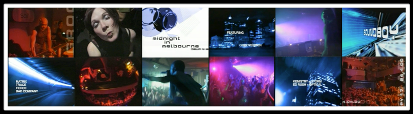 MIDNIGHT IN MELBOURNE : DRUM N BASS DOCUMENTARY : DIRECTED : CINEMATOGRAPHY : EDITED