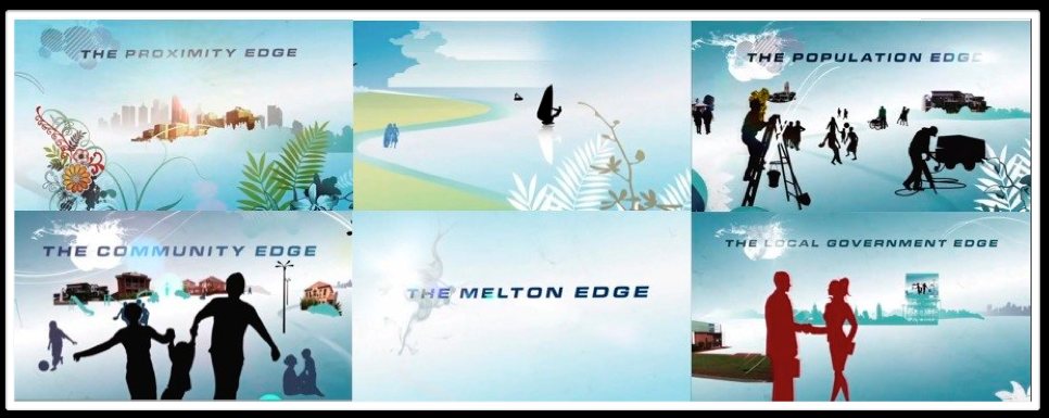 THE MELTON EDGE : TVC : DIRECTION : ANIMATED