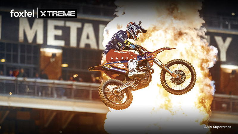 xtreme sports - FOXTEL : DIRECTOR : EDITOR : 56 EPISODES