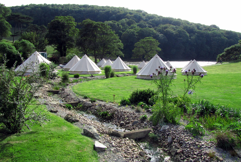 Hotel Bell Tent Accommodation CarFest