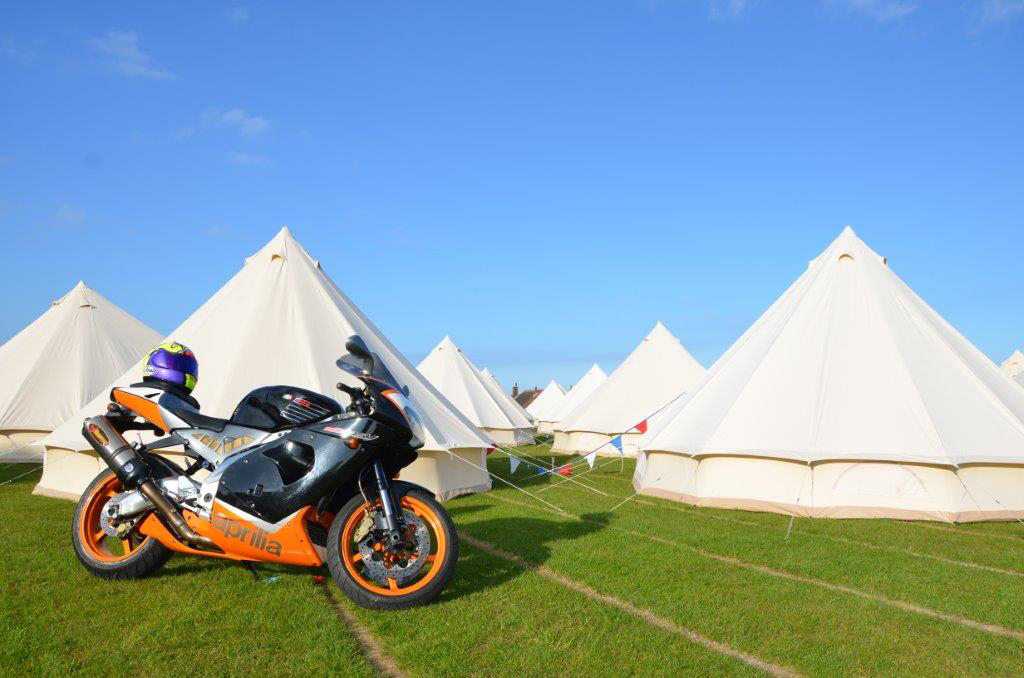 Hotel Bell Tent Accommodation Exterior TT Races Isle of Man