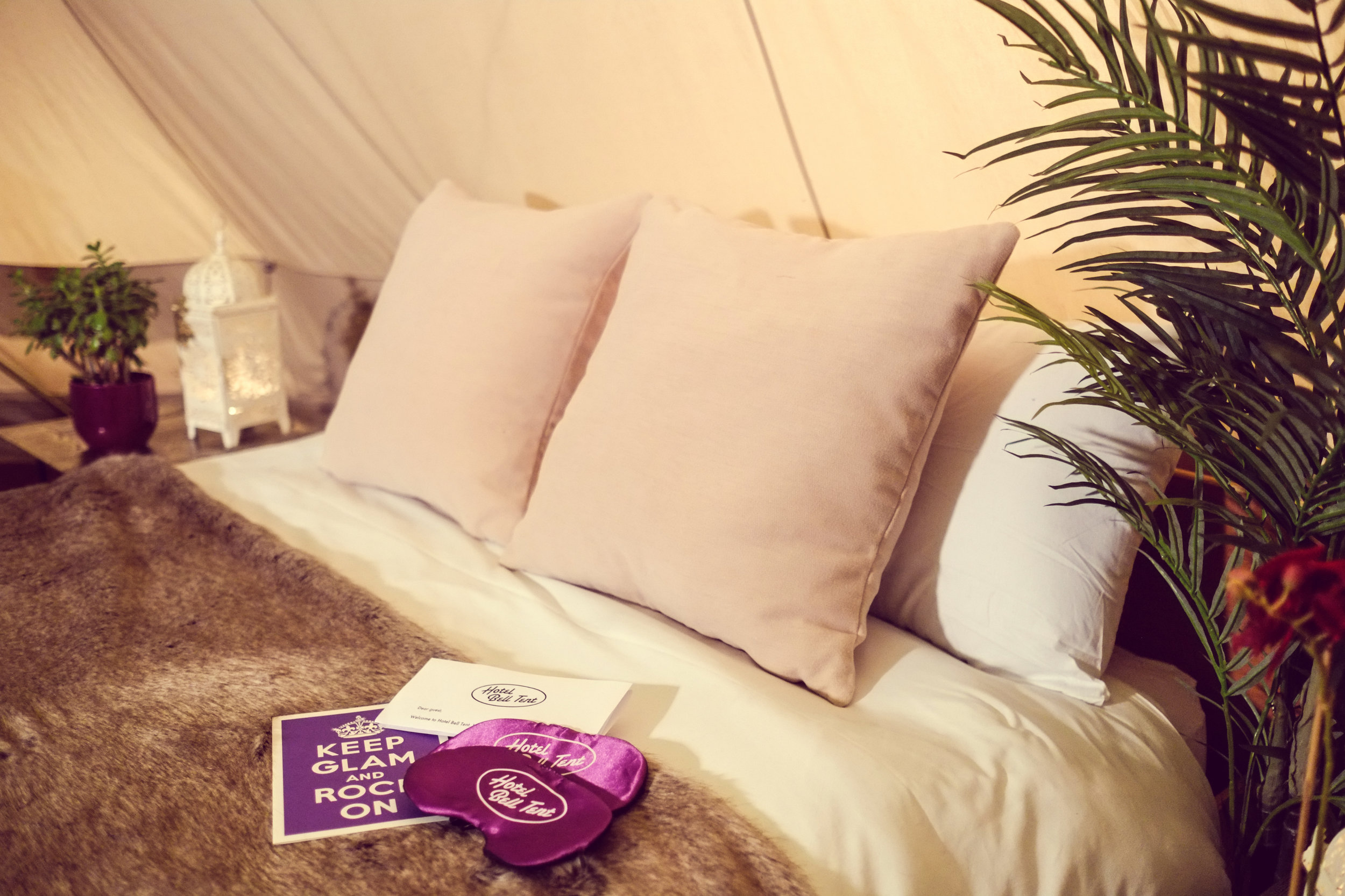 Hotel Bell Tent Accommodation VIP Package