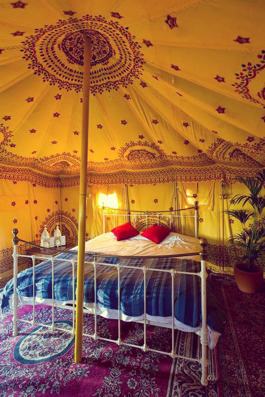 Hotel Bell Tent Accommodation Luxury Bedouin Tent