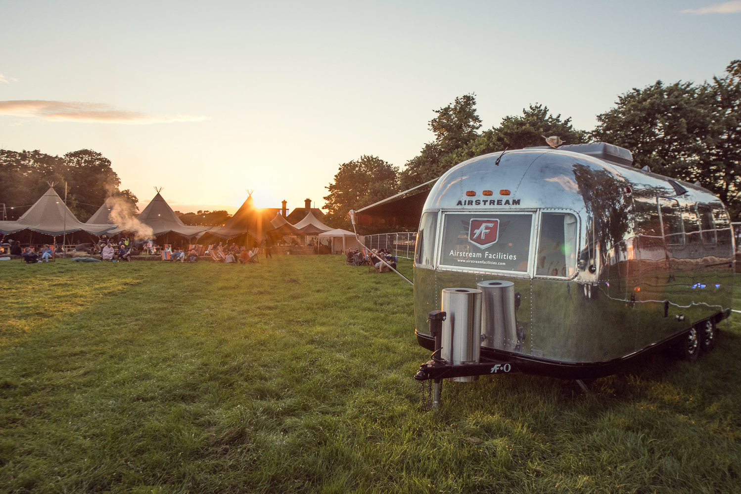 Copy of Hotel Bell Tent Accommodation Airstream Trailer Exterior