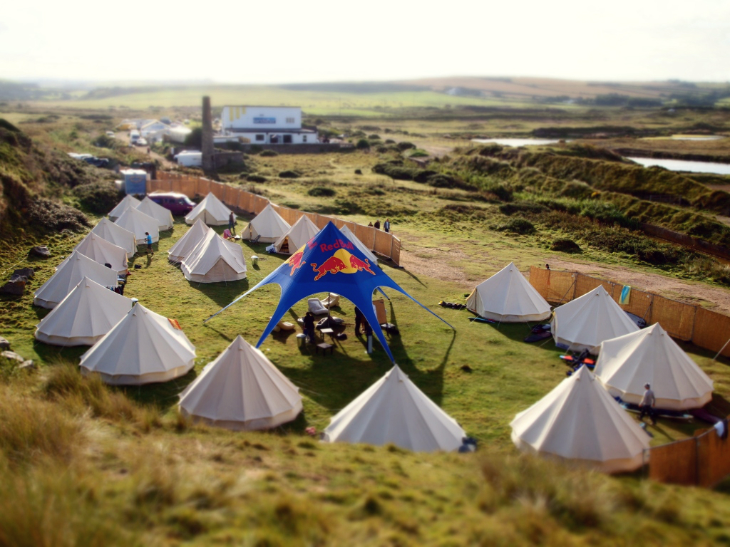 Corporate Events Hotel Bell Tent Accommodation Site