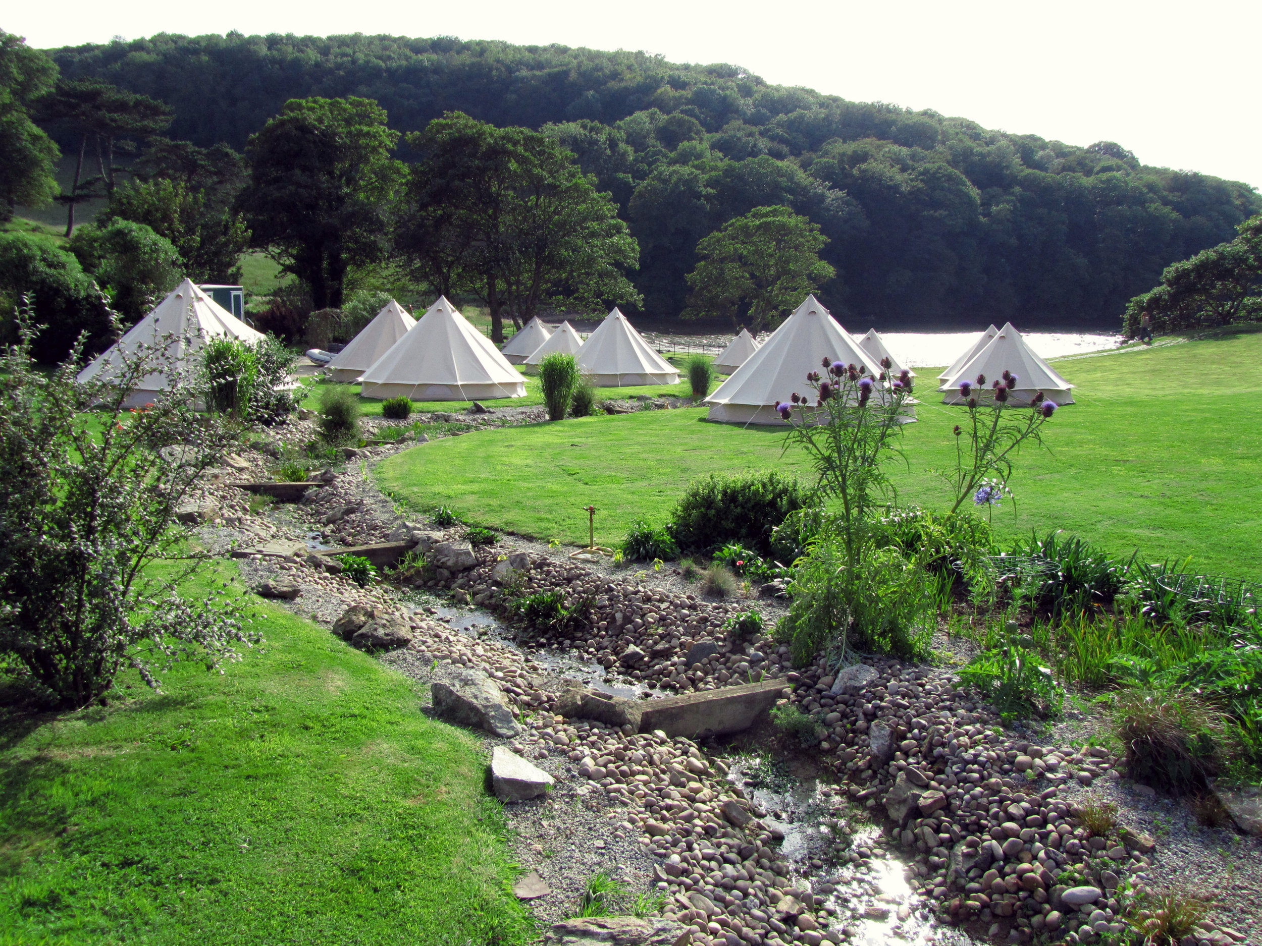 Private Parties & Weddings Hotel Bell Tent Accommodation