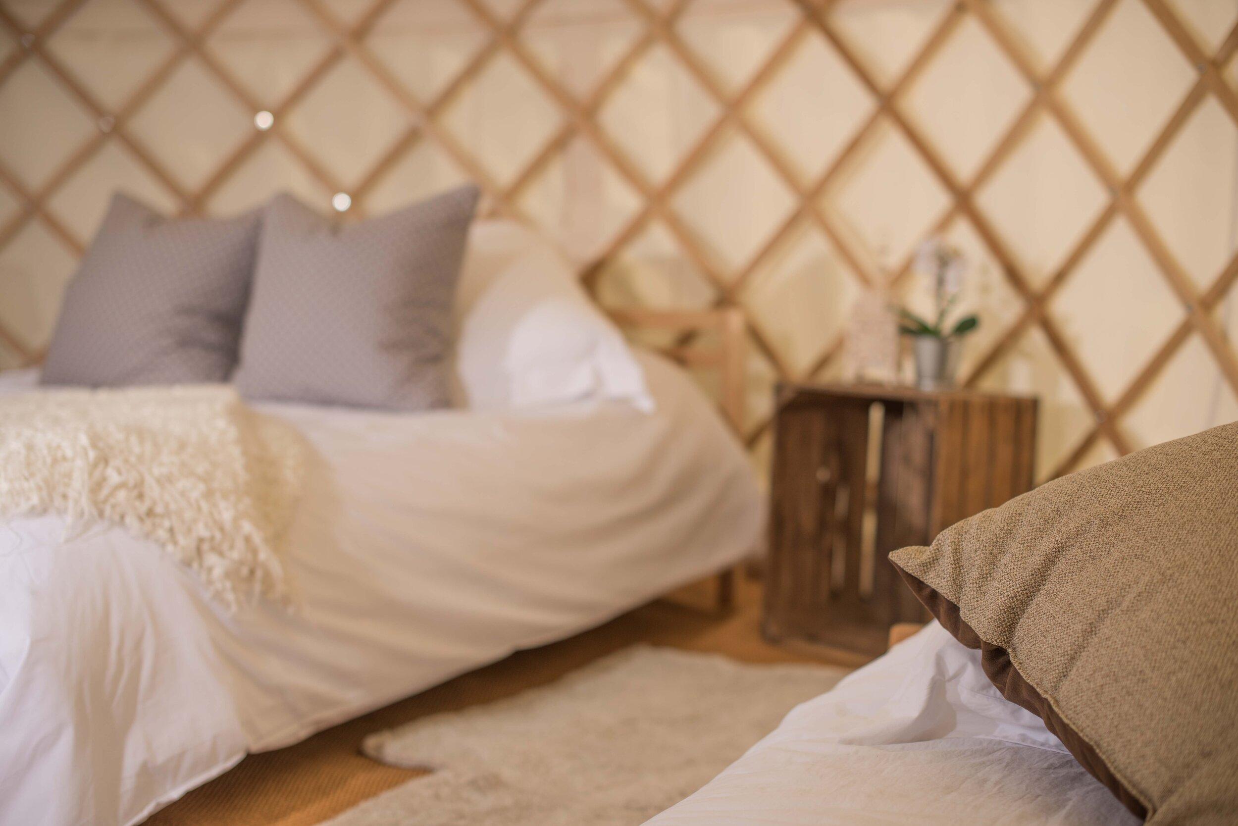 Hotel Bell Tent Luxury Yurt Package