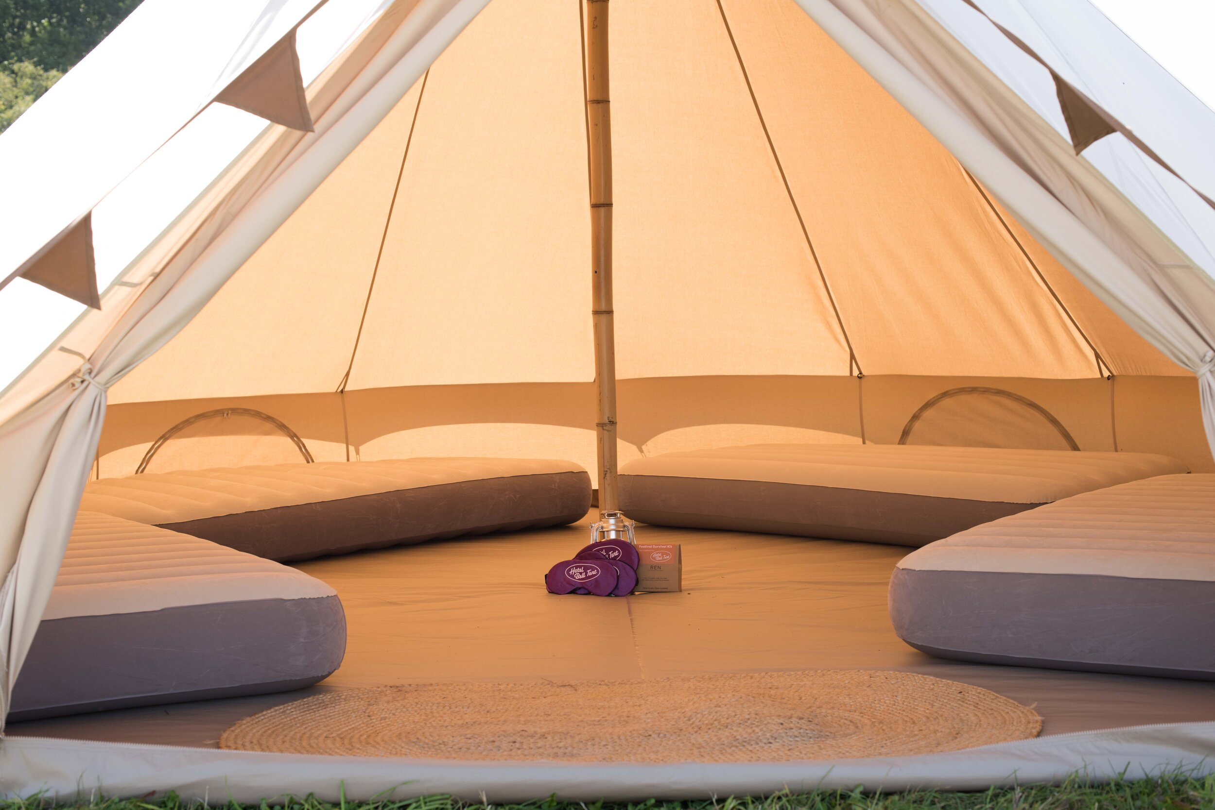 Hotel Bell Tent Standard  Package