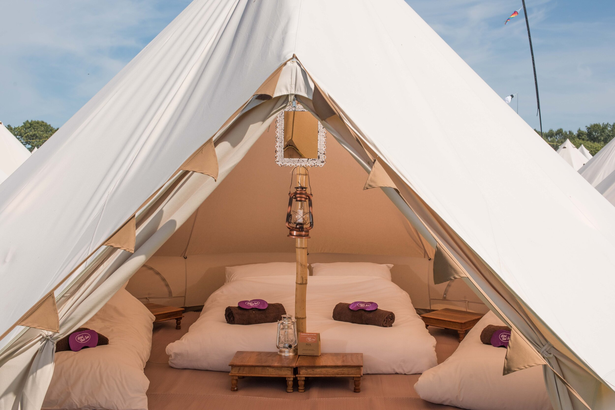 Hotel Bell Tent Classic Package