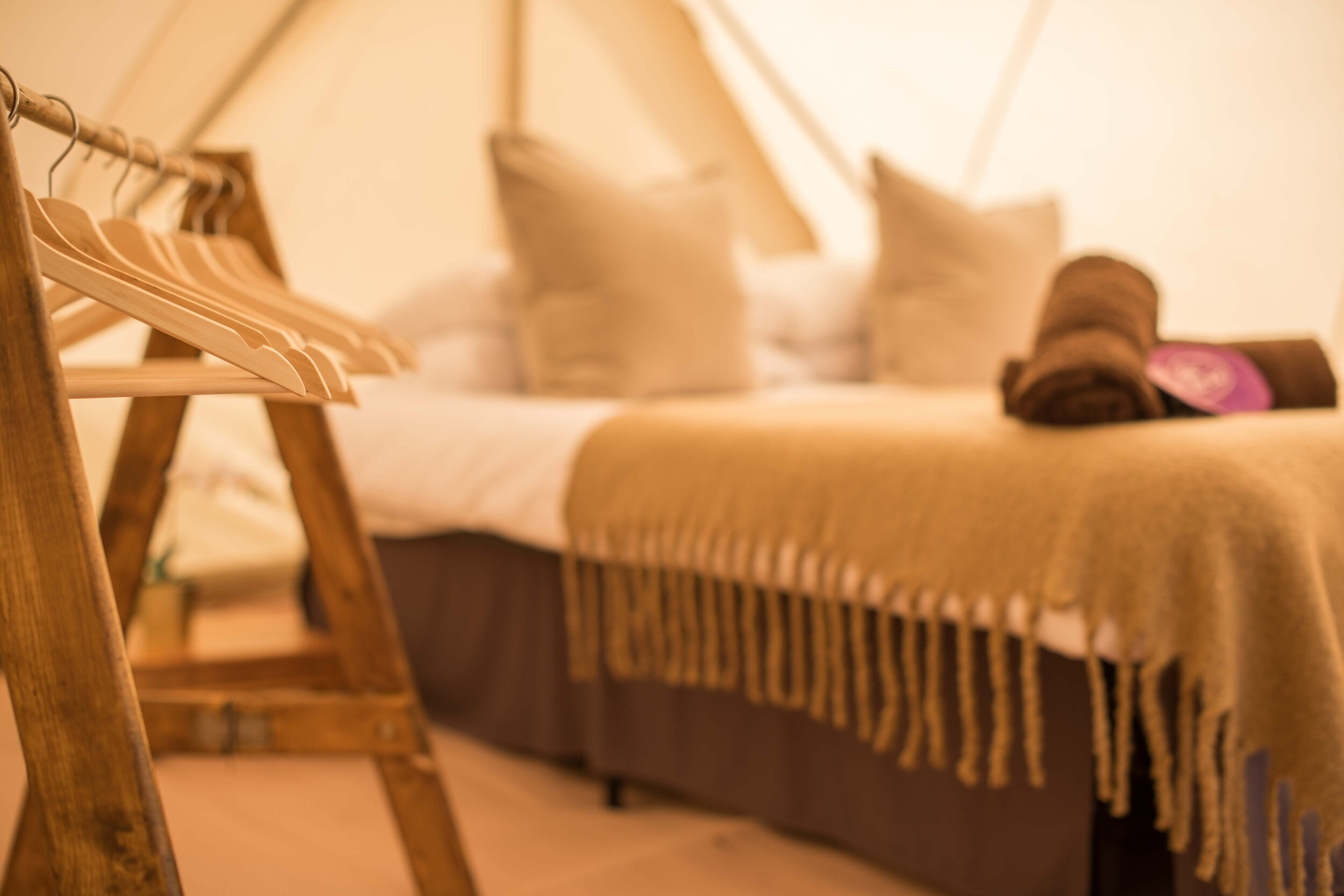 Hotel Bell Tent Super Bell Package