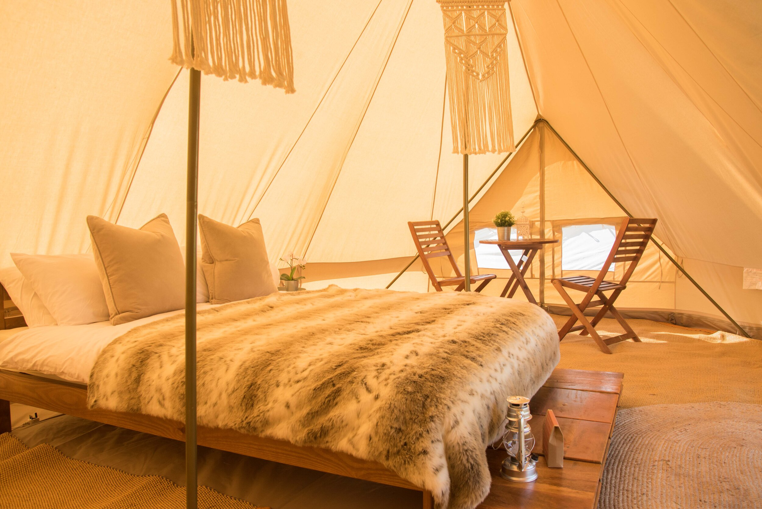 Hotel Bell Tent VIP Package