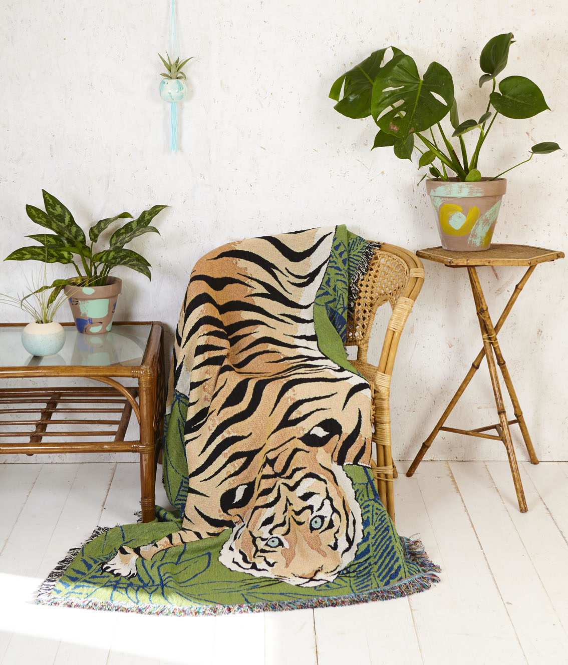 No Tigers were harmed in the making of this throw!