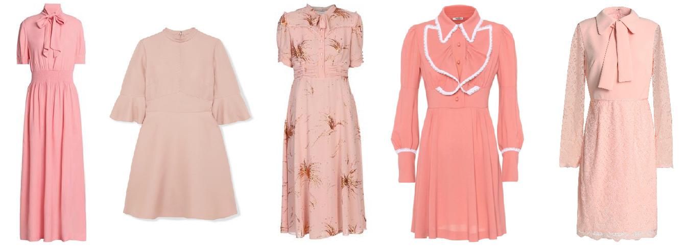 The pink dress Brigade!