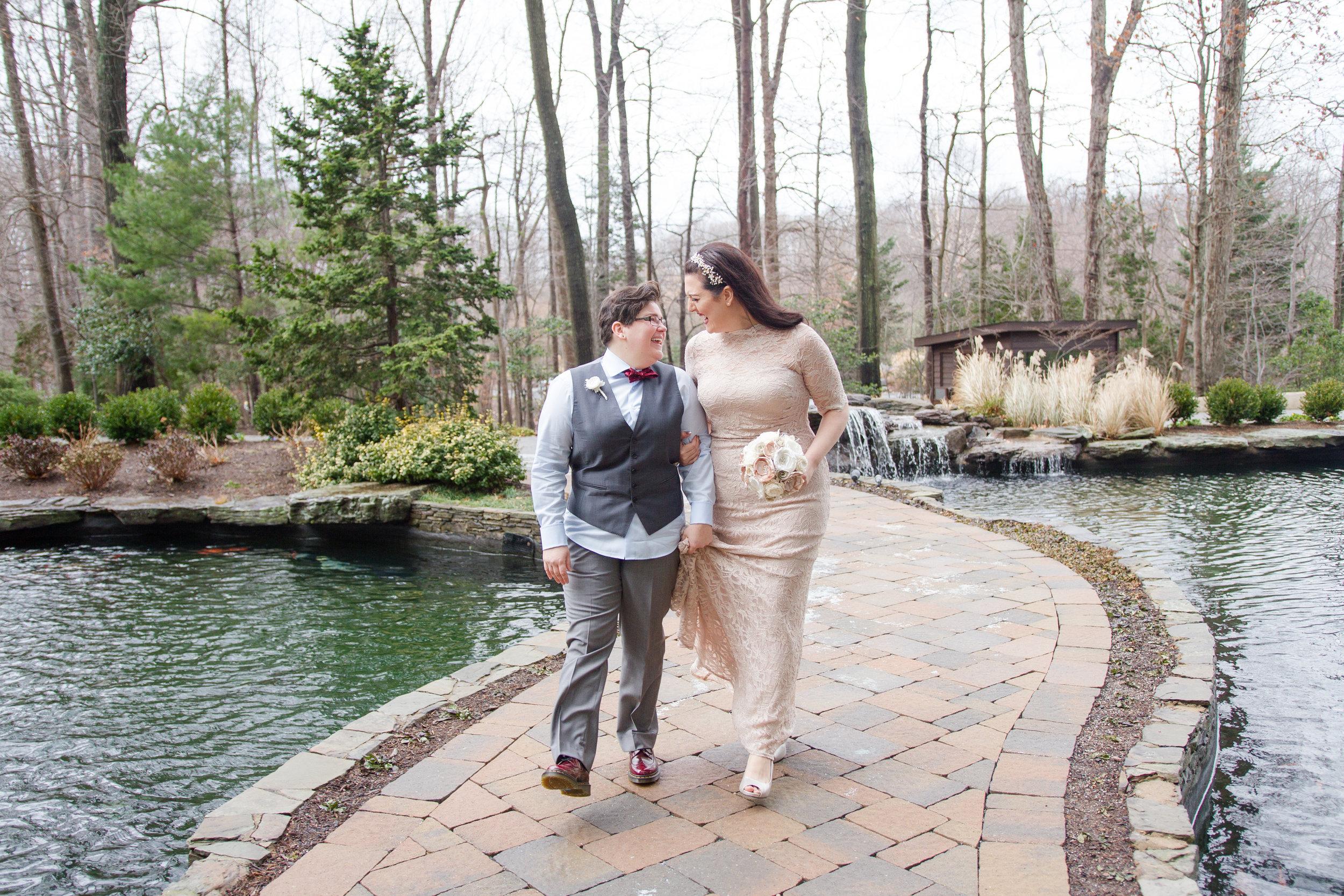 Jenn and Bek | 2941 Restaurant Wedding Photographer | Falls Church, Virginia Wedding Photographer | Maral Noori Photography | Virginia Same Sex Photographer | Virginia LGBTQ Wedding
