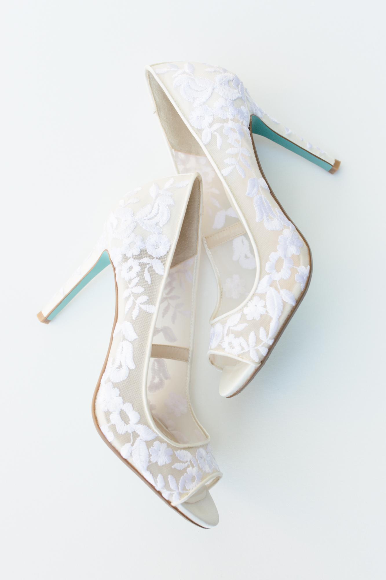 Wintergreen Resort Wedding | Maral Noori Photography | Charlottesville Virginia Wedding Photographer | Betsy Johnson Wedding Shoes