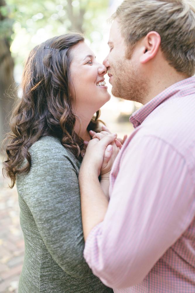 Old Town Alexandria Fall Engagement | Maral Noori Photography | Virginia Wedding Photographer