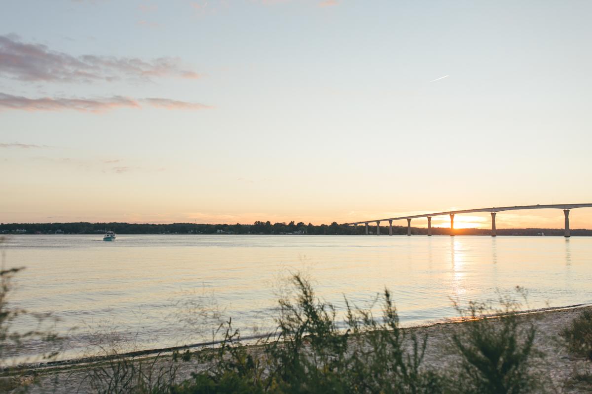 Solomons Island Engagement Session | Maral Noori Photography | Maryland Wedding Photographer | Sunset