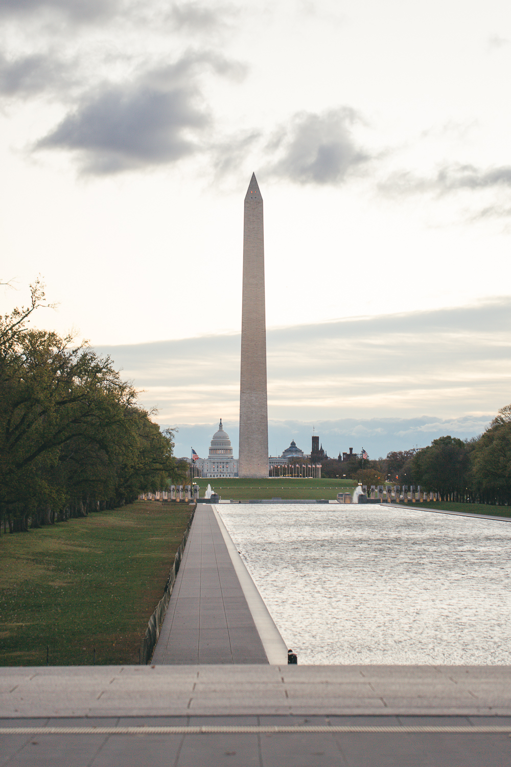 Washington Memorial Sunrise | Maral Noori Photography | Travel Blogger