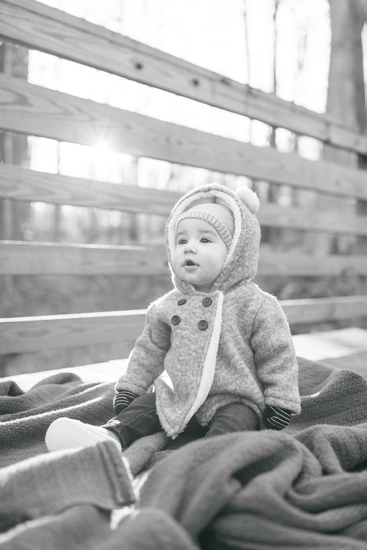 Winter Family Portraits | Maral Noori Photography | Park Family Photographer