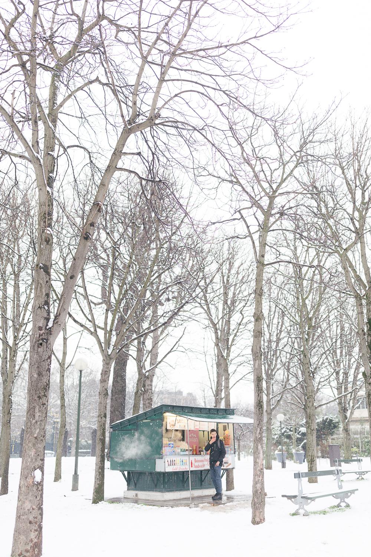 Paris, France Travel Blog   Tips   Tricks   Prints   Maral Noori Photography   Snow
