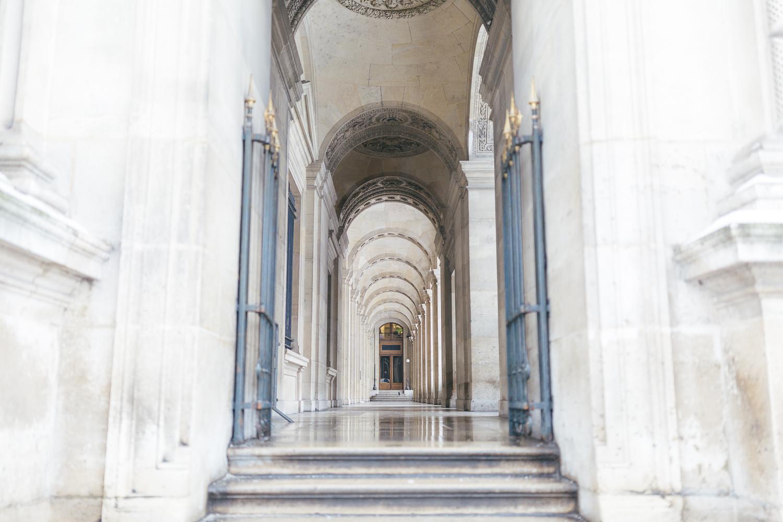 Paris, France Travel Blog   Tips   Tricks   Prints   Maral Noori Photography   Louvre Hallway