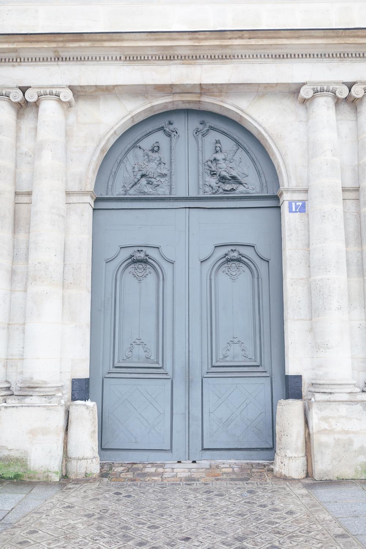 Paris, France Travel Blog   Tips   Tricks   Prints   Maral Noori Photography   Paris Pale Blue Door