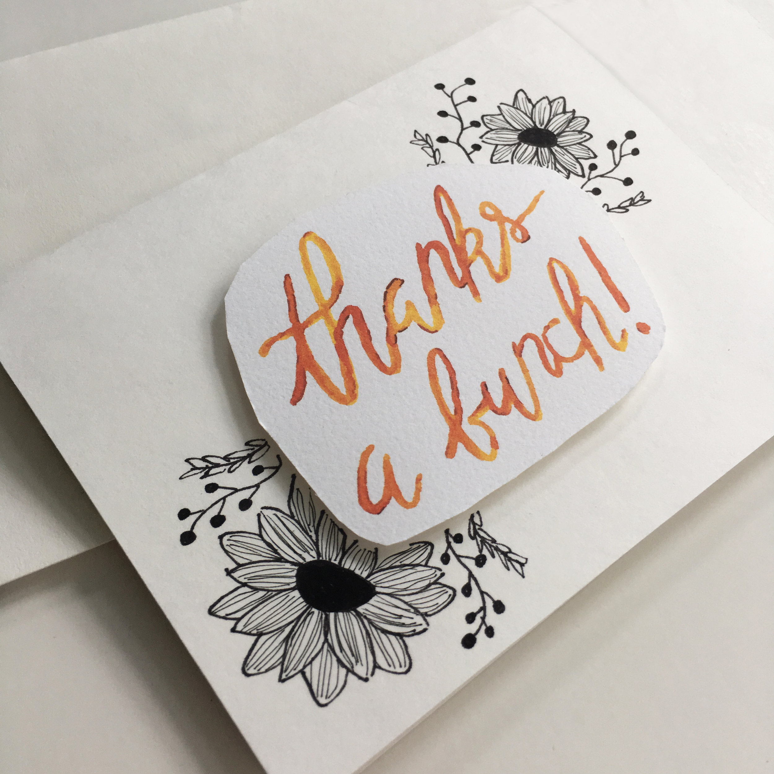 Our Thanks a Bunch! greeting card is available  here .