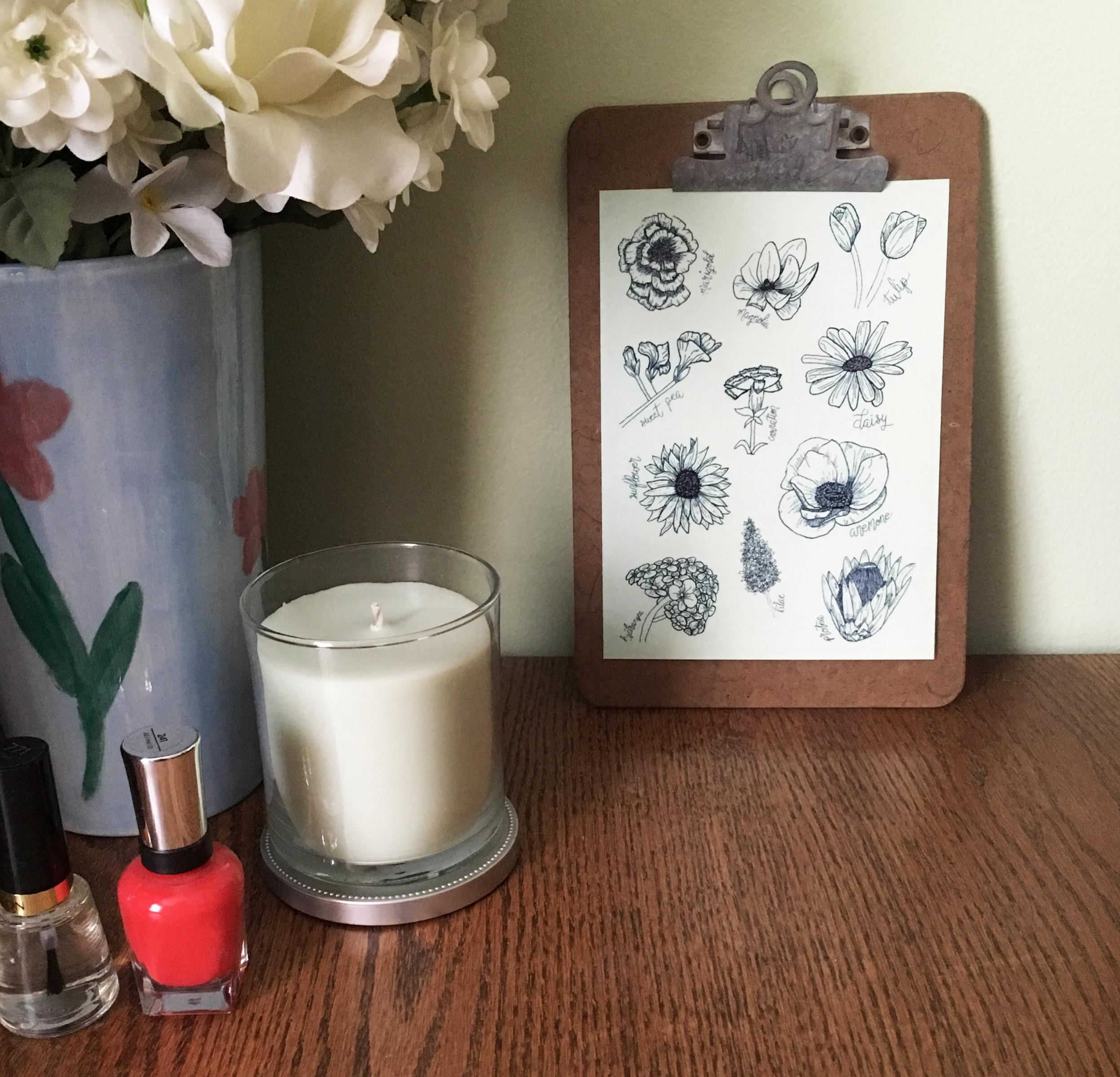 Shop our  Floral art print .