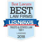 Best Law Firms Lansing Trusts and Estates Law 2018
