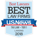 Best Law Firms Lansing Tax Law 2018