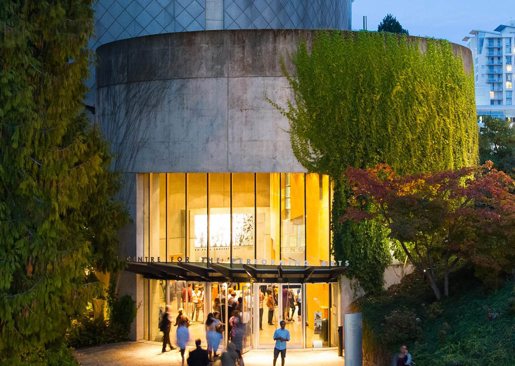 The Chan Centre at night. Photo: Tim Matheson