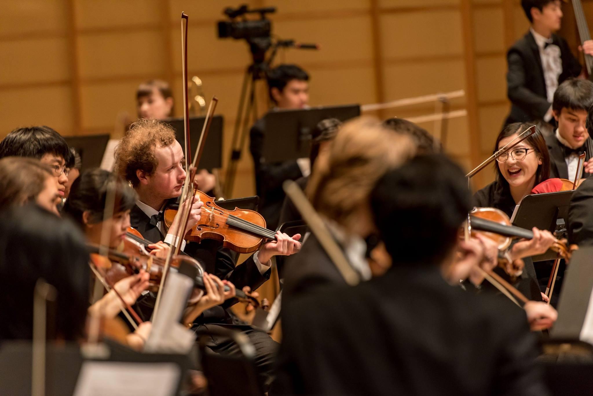 UBC Symphony Orchestra. Photo: Paul Joseph/UBC