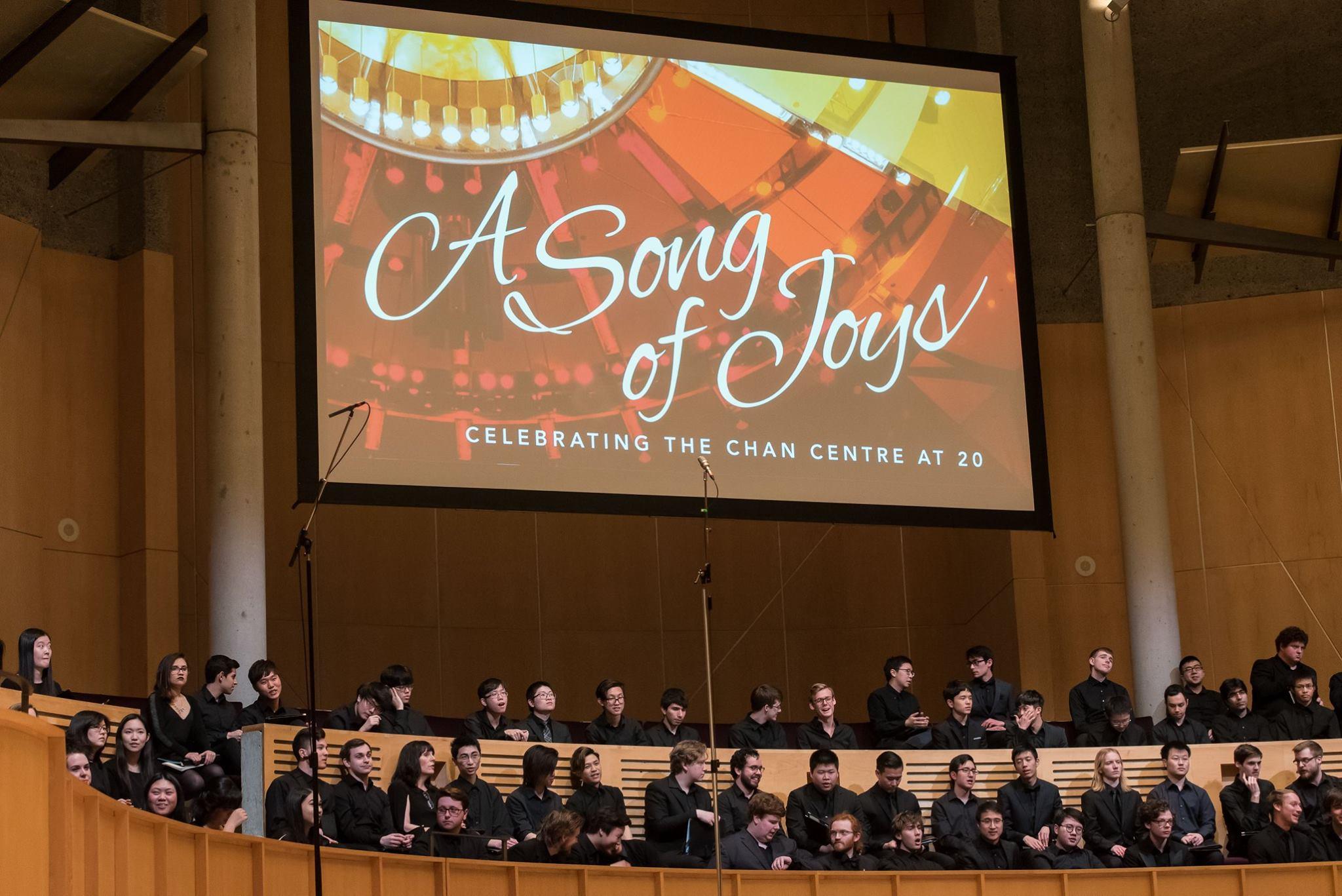 UBC Choirs.  Photo: Paul Joseph/UBC