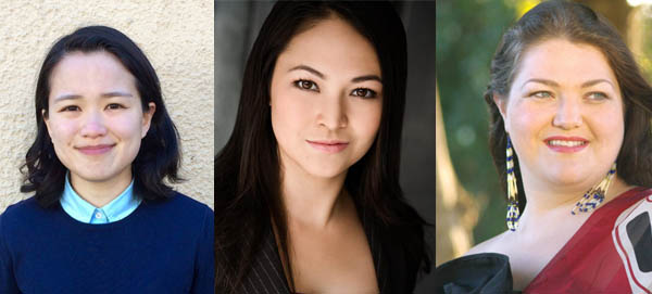 Left to right: Julia Chien, Debi Wong, and Rose-Ellen Nichols
