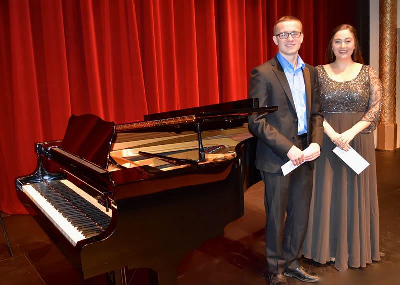 Shane Hanson and Francesca Corrado