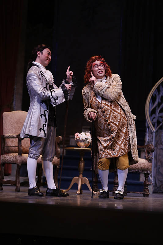 Scene from La Cenerentola.  Photo: Tim Matheson