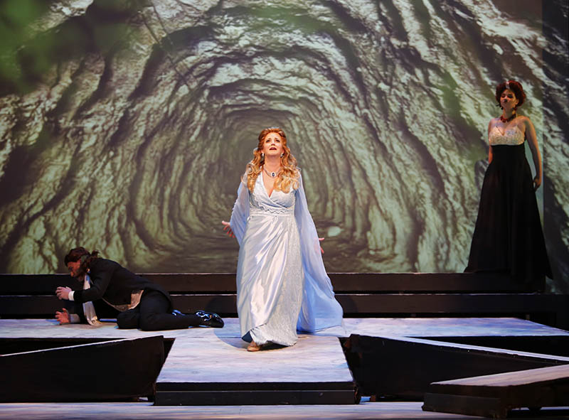 Scene from Orfeo ed Euridice.  Photo: Tim Matheson