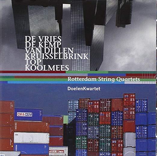 2007-10-15 CD Cover | Rotterdam String Quartets | Edward Top.jpg