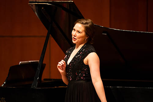Concerto Competition winner D'Arcy Blunston (Photo: Takumi Hayashi)