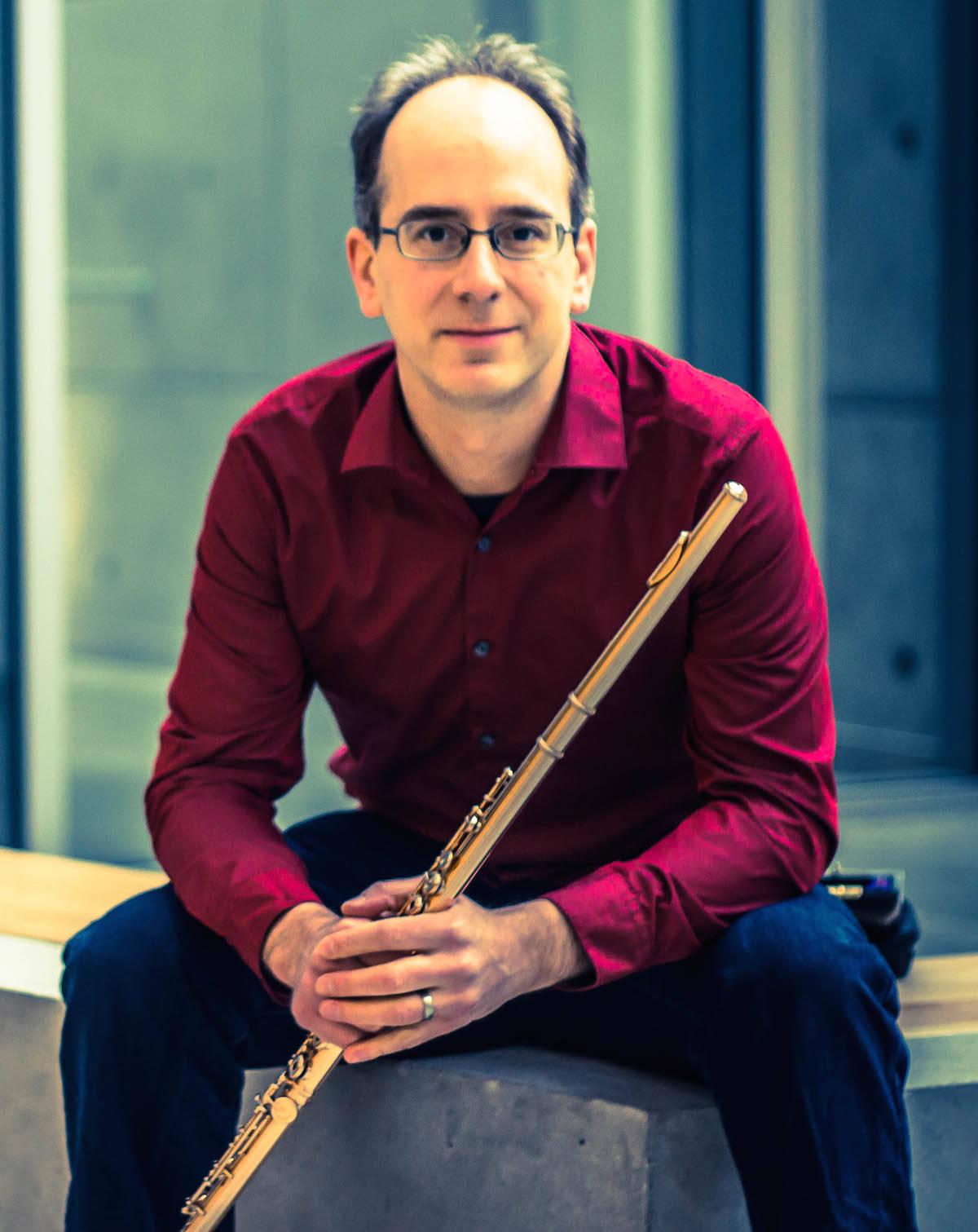 Paolo Bertolussi, flute