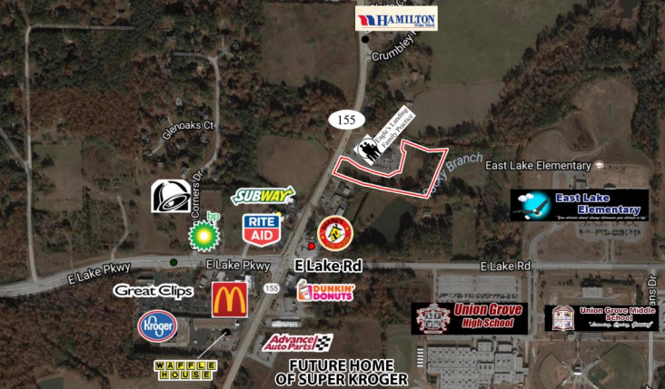 3.78 Commercial Land For Sale by Trip Wilhoit & Patty Burns, Fickling & Co.
