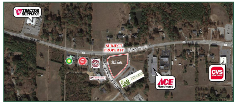 1700 Hwy 81 & Old Jackson Rd. land for sale McDonough | georgiacommercialrealestate.net